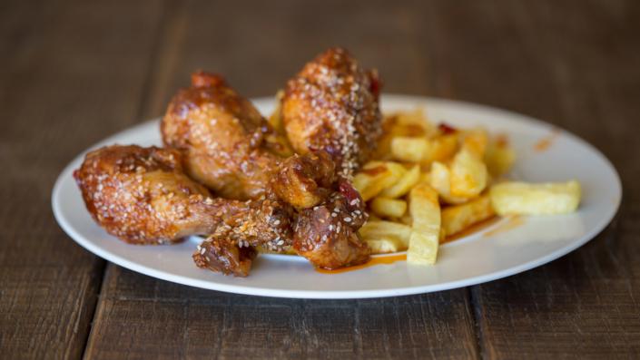 Μπουτάκια Κοτόπουλο Με Σουσάμι και Μέλι | Σπιτικό Απλά