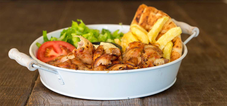 Μερίδα Γύρος Κοτόπουλο | Σπιτικό Απλά